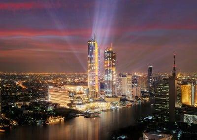 Thailands größtes kommerzielles Immobilienprojekt ICONSIAM eröffnet mit einem fulminanten Start von 30 Millionen US-Dollar
